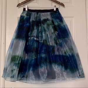 Max&Co Double Layered Organza Skirt